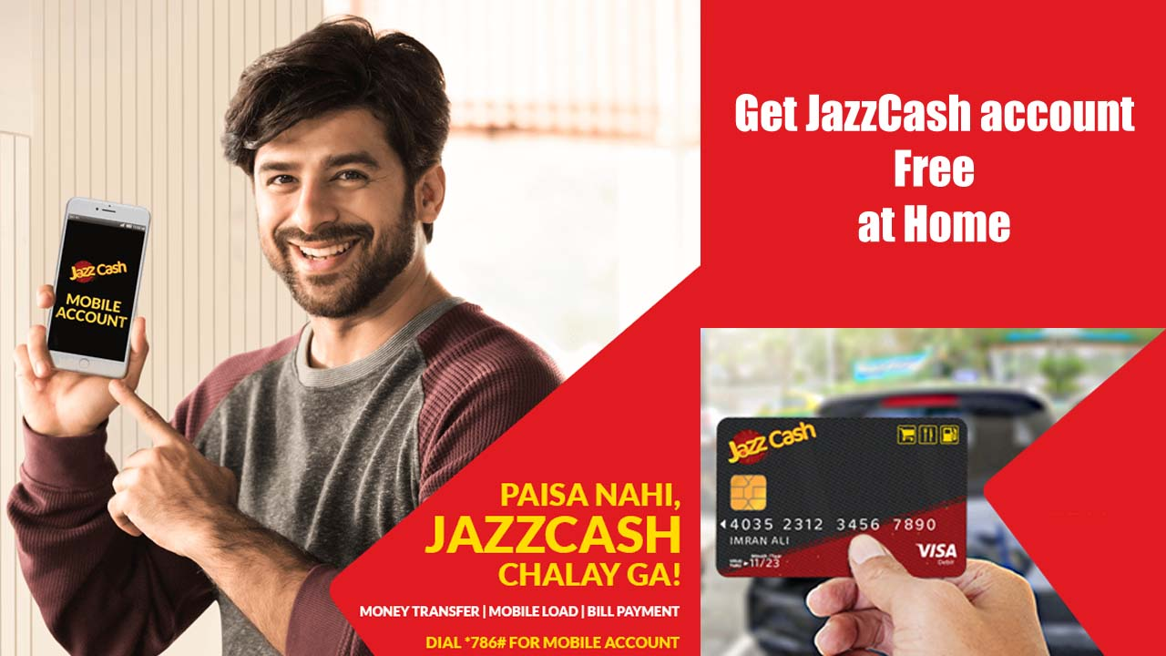 How to Make JazzCash account and order a Debit Card