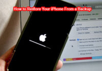 How to Restore Your iPhone From a Backup